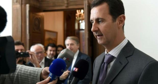 Le président syrien Bashar al-Assad le 14 novembre 2015 à Damas. (Photo : AFP)