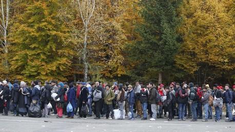 Des réfugiés en Autriche