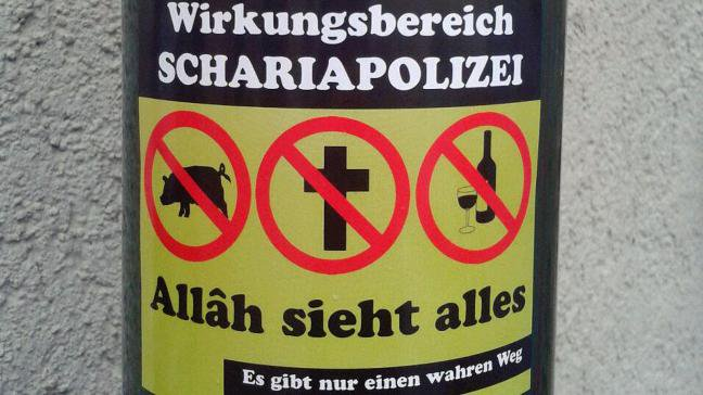 SHARIA RULES: No Pork. No Christianity. No Booze