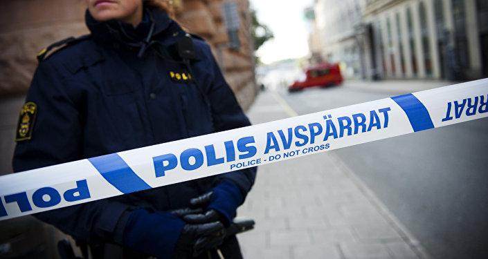 La police de Stockholm