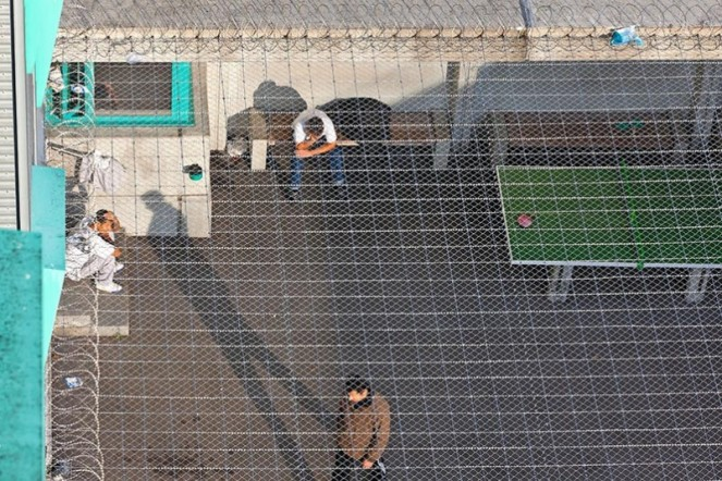 PRISON DE L'AÉROPORT DE KLOTEN Des détenus étrangers attendent d'être expulsés du sol suisse. Aujourd'hui, 4800personnes sont susceptibles d'être renvoyées.