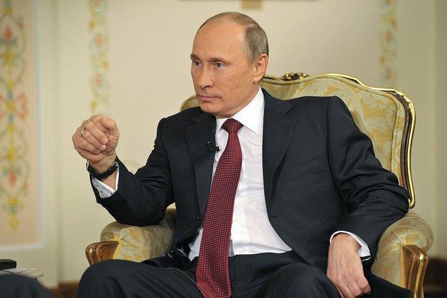 El presidente de Rusia, Vladimir Putin / Wikimedia