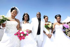 SOUTH AFRICA QUADRUPLE WEDDING