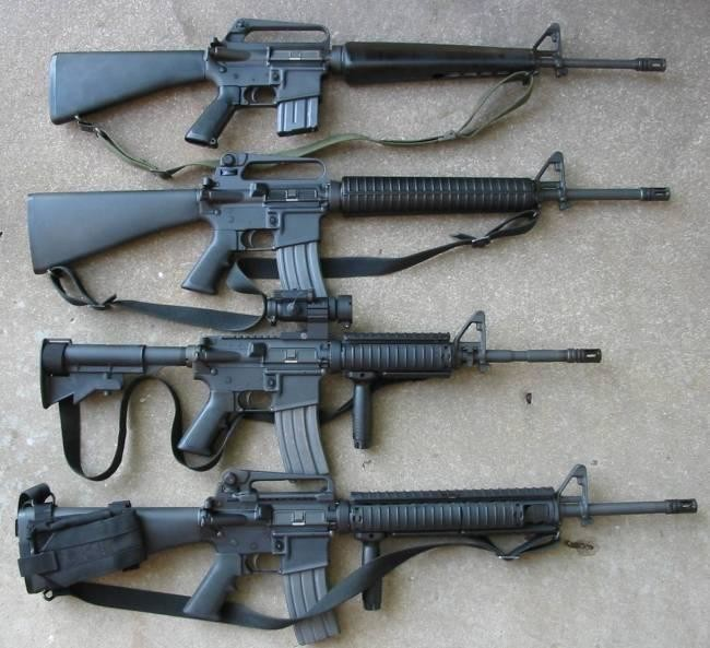 Resultado de imagen de fusiles de asalto